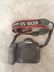 Canon  EOS 5D Mark III 22.3 MP Digital SLR Camera, 2 batteries, 2 chargers 1 CF