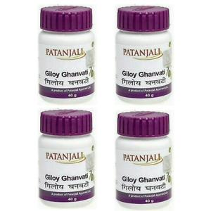 4x Giloy Ghanvati Patanjali | 240 Tablets | Ayurvedic Immunity Booster