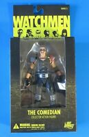 """DC DIRECT WATCHMEN COMEDIAN With Mask 7"""" ACTION FIGURE Series 2 ~ NEW"""