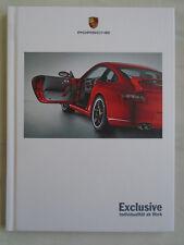 Porsche Exclusive range brochure Aug 2005 German text