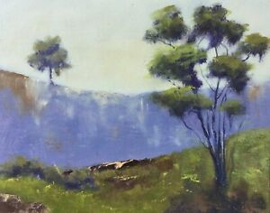 Original Oil Australian Landscape IMPRESSIONISM 8 X 10 panel unframed NEW