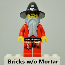New Genuine LEGO Red Wizard Minifig Castle