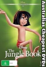 The Jungle Book DVD NEW, FREE POSTAGE WITHIN AUSTRALIA REGION 4