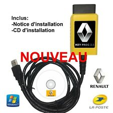 Programmeur/Programmateur de clés et cartes Renault