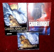 Gabriel Knight 3: Blood of the Sacred, Blood of the Damned PC  NEW
