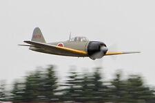 1/12 Scale Japanese WW-II Mitsubishi Zero Plans, Templates, Instructions