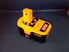 Ryobi P100 18v 18 volt ONE+ plus NiCad battery pack New