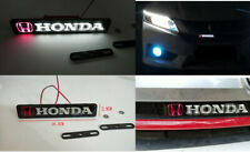 Car Accessories LED Emblem GRILL BADGE FOR Honda Front Grilles Auto Sticker