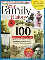 Your Family History Magazine 100 Military Hints and Tips Police Records Ancestry