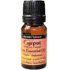 Cajaput Essential Oil 10ml, Unwinding, Acne, Uplifting, Massage or Burning
