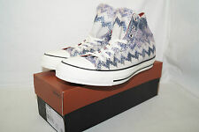 Converse Chucks All Star High TG 42,5 UK 9 MISSONI Egret/Multi Blu 147337c