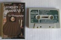 GEORGES BRASSENS (K7 AUDIO) LE PORNOGRAPHE