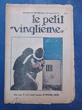 Tintin - Petit Vingtième- n°21 du 25/05/1933 (Couv. Tntin) TBE!!!