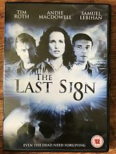 Andie MacDowell Tim Roth LAST SIGN ~ 2004 Supernatural Thriller UK DVD
