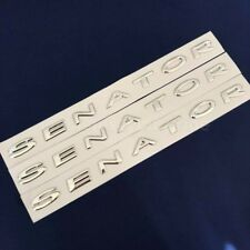 VY VZ HSV Senator Chrome Side Skirt Boot Badges