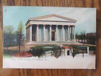 Vintage Postcard Girard College Philadelphia Pennsylvania Building