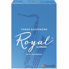 Rico Royal Tenor Saxophone Reeds # 1.5 by D'Addario (Box of 10)