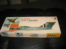 "Gloster F.A.W. 1 Javelin - Hawk - 1/4"" scale - 1967"
