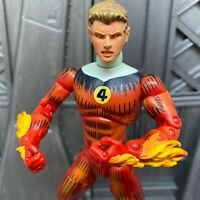 "Marvel Legends Fantastic Four FF4 Human Torch Box Set 6"" Inch Action Figure"