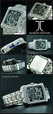 Lujo Wizard señores chrongraph jacques Cantani reloj ecxlusive Design