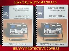 IFR FM/AM 1200S/A COMMUNICATIONS MONITOR SERVICE MANUAL **ON 32 LB PAPER**