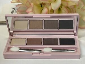 Clinique All About Shadow Quad LE~Ivory~Sunset~hazy~wear No Box 4.8 g -Free Ship