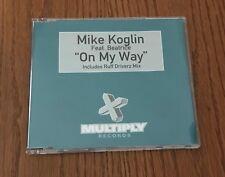 "MIKE KOGLIN ft BEATRICE ""ON MY WAY""  RARE ORIGINAL 1999 UK CD SINGLE"