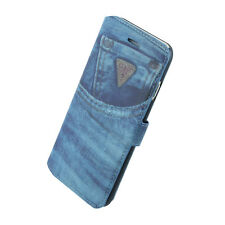 Guess Denim Jeans O2 Book Case for iPhone 6 Black - Retail Packed