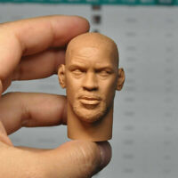 "1/6 Scale The Book of Eli Denzel Washington Head Sculpt Unpainted Fit 12"" Figure"