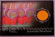 Harry Potter-POA-Authentic-Prop Card-Fizzing Whizzbee's-(Candy Wrapper)-#/430