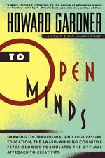 To Open Minds by Gardner, Howard E.