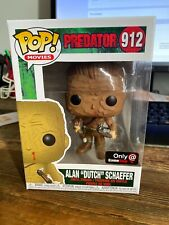 "Funko Pop Movies Predator Alan ""Dutch"" Schaefer Gamestop Exclusive In Hand"