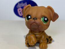 New ListingBulldog Dog #180 - Authentic Littlest Pet Shop - Hasbro Lps