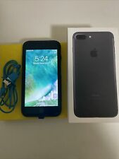 iphone 7 plus 256gb unlocked black. With Otter Box Case & Orig Box