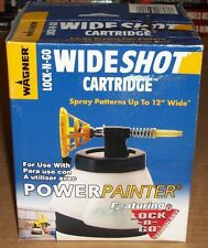 WAGNER Wideshot LOCK-N-GO Paint Sprayer CARTRIDGE for Power Painter NEW NIB