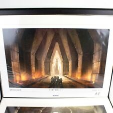 NEW Dragon Age 2 II Deeproads Lithograph OOP Numbered 465/500