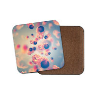 Cancer Cells Coaster - Biology Doctor Medical Student Microscopic Gift #13193