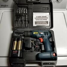 Craftsman VersaPak GOLD 7.2 Volt 2 Speed Cordless Portable Drill Case Batteries