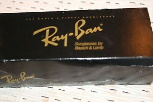 Ray Ban Arista Sunglass Case in Original Black Cardboard Box