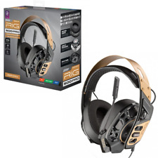 RIG 500 Pro Gold Gaming Headset NEW