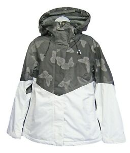 New Nike ACG Womens Ladies STORM-FIT THERMORE Ski Jacket Coat Grey White M