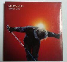 """CD Promo Raro per Vodafone Italy """"Simply Live"""" dei Simply Red"""