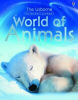 The Usborne World of Animals - Internet Linked by Unwin, Mike Hardback Book The