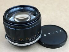 Tomioka 55mm f/1.2 Auto Yashinon M42 Screw Mount Lens - Nice