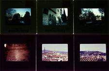 FLORENCE ITALY 1980 SLIDES 2 BOXES