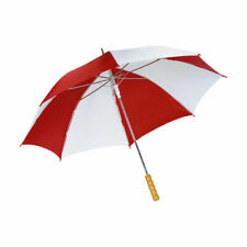 *SALE SALE SALE*  RED AND WHITE AUTOMATIC GOLF UMBRELLA BY DRIZZLES UU0065