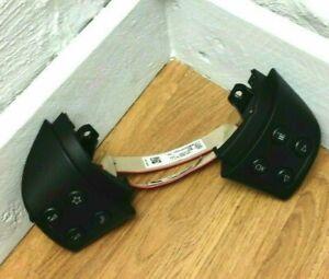 Genuine VW Golf MK5 pair of black Steering wheel switches. R32, GTi, R etc. 1B19