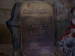 1 oz. silver vintage.999(T) Deak-Perera #85104 Bar
