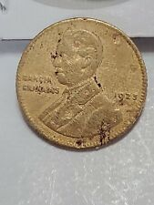 1 Peso Guatemala 1923 Bronze Coin - ROTATION MEDAL