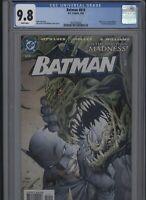 Batman #610 CGC 9.8 Jim Lee 2003 Catwoman KILLER CROC